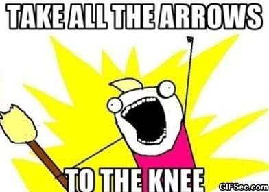 arrows-to-the-knee