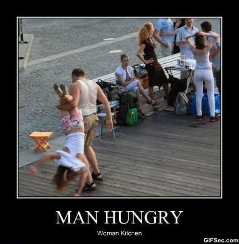 man-hungry-woman-kitchen