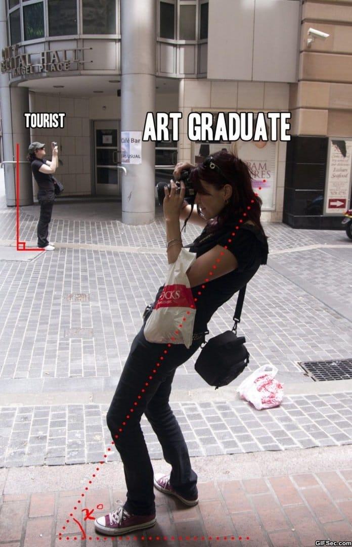 tourist-vs-art-graduate