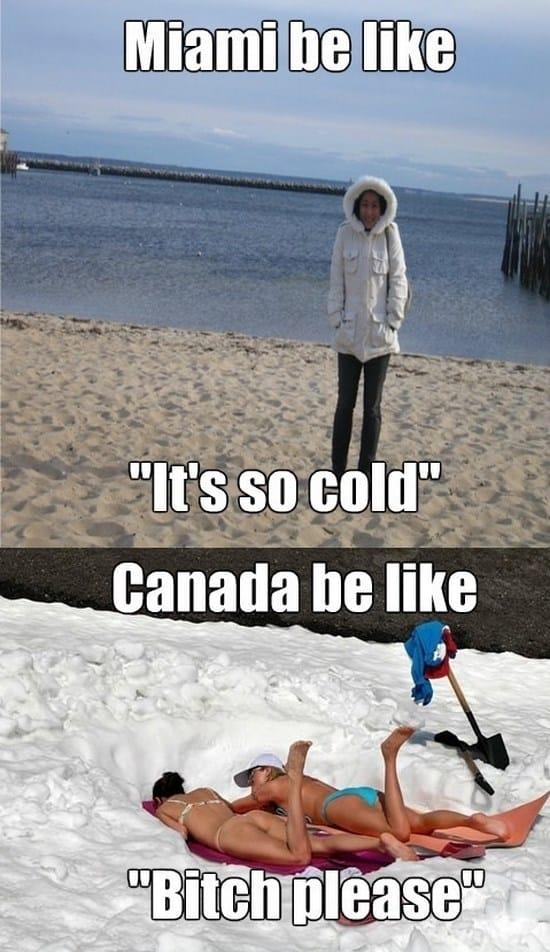 Winters – USA vs. Canada