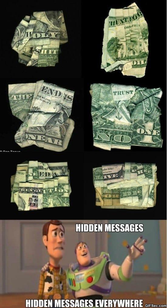 Hidden Messages In Money