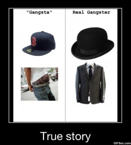real-gangster