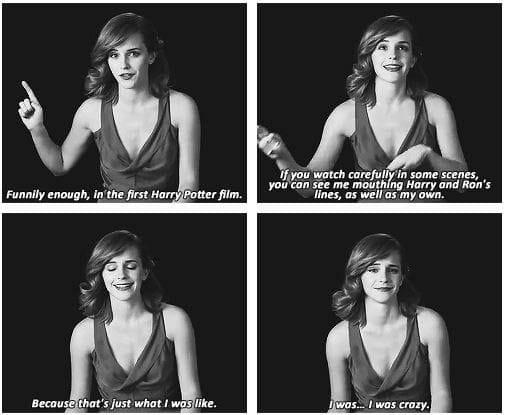 Emma Watson funny