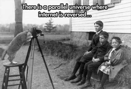 In a parallel universe