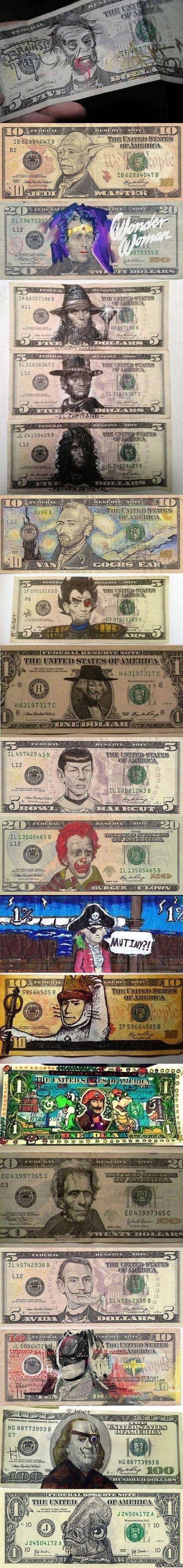 art-in-money