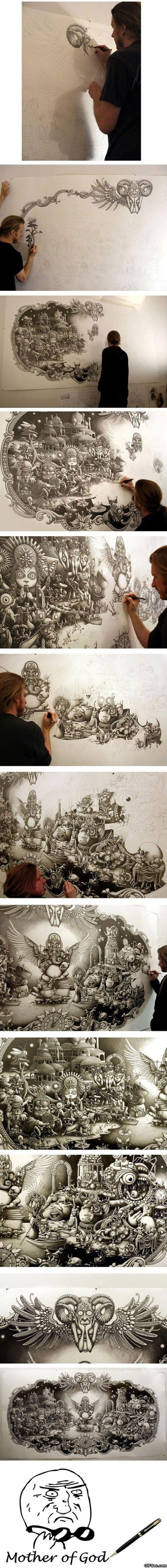 awesome-pen-drawing