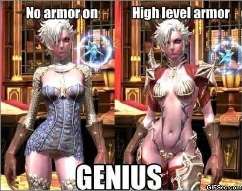 female-armor