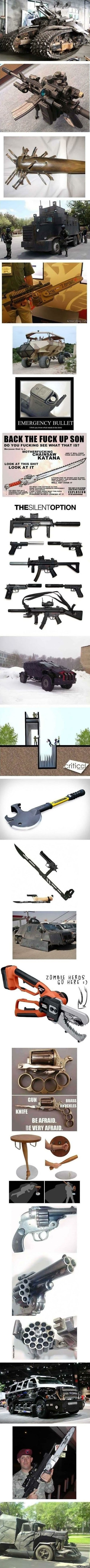 funny-everything-youll-need-for-a-zombie-apocalypse
