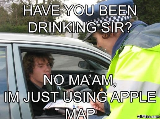 Funny Apple Meme : Funny apple maps viral viral videos