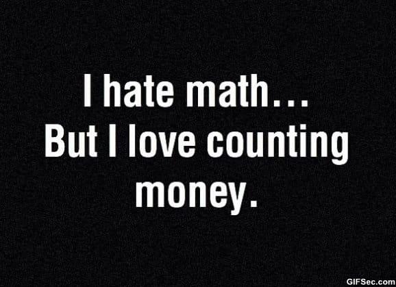 math-vs-money