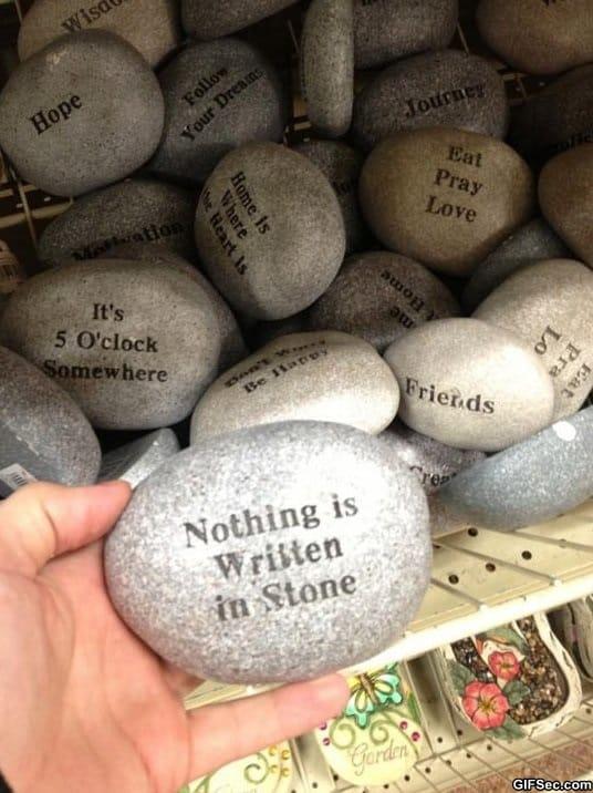 nothing-is-written-in-stone