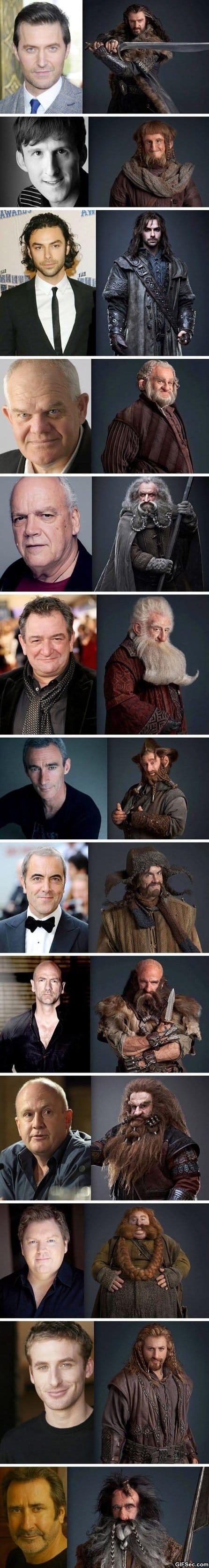 the-hobbit-dwarves-pre-and-post-make-up