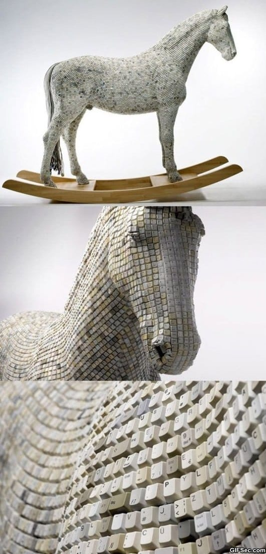 trojan-horse-made-from-computer-keys
