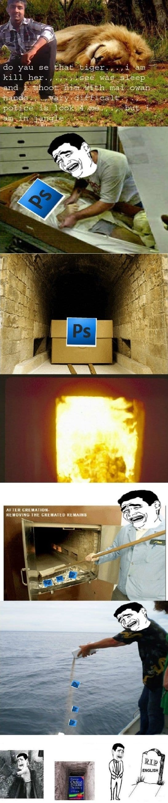 Rip photoshop and grammar viral viral videos altavistaventures Images