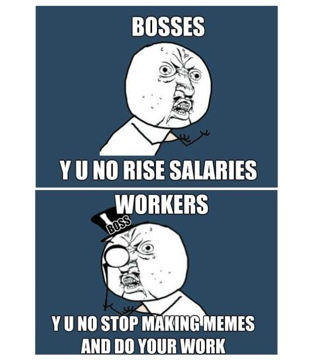 Best MEMES 2014 Y U No Do Your Job Y U No Meme