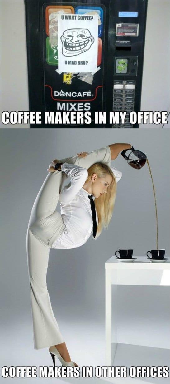 Coffee Maker Broke Meme : Funny Joke 2014 Coffee Makers