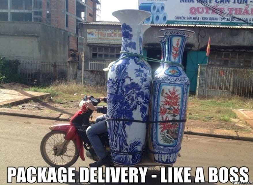 Delivery Like a boss MEME