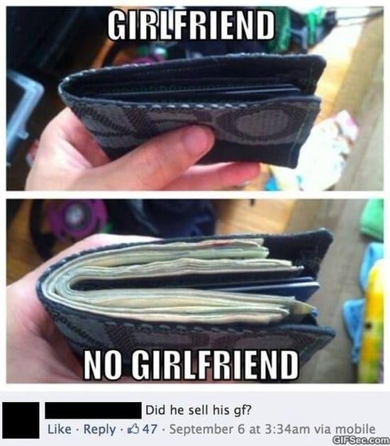 Girlfriend vs. No Girlfriend MEME