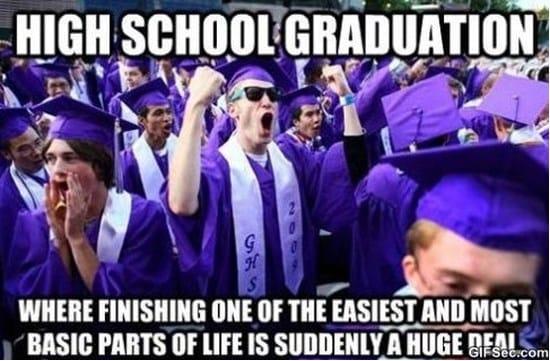 High School Graduation MEME