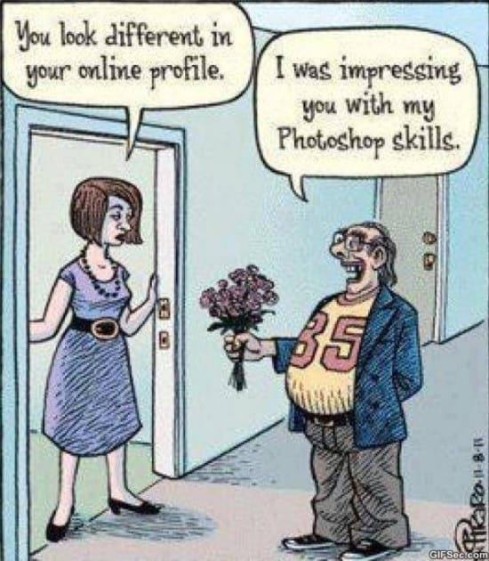 Online dating meme rodeo