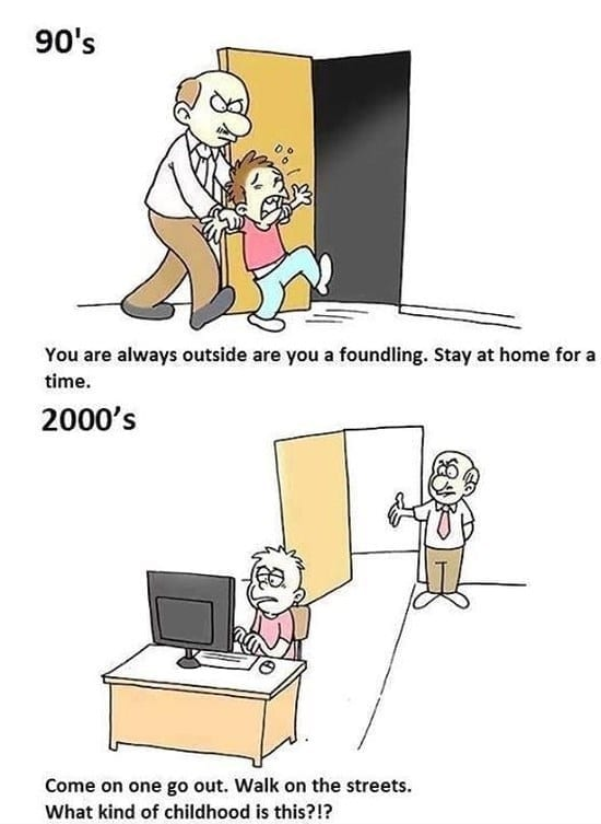 children-then-and-now