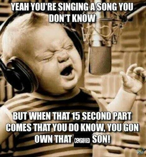 Singing a song you dont know singing a song you don't know viral viral videos