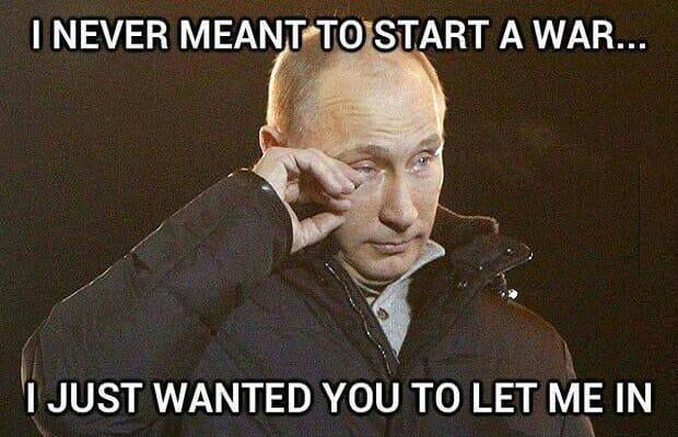 Vladimir Putin – lol