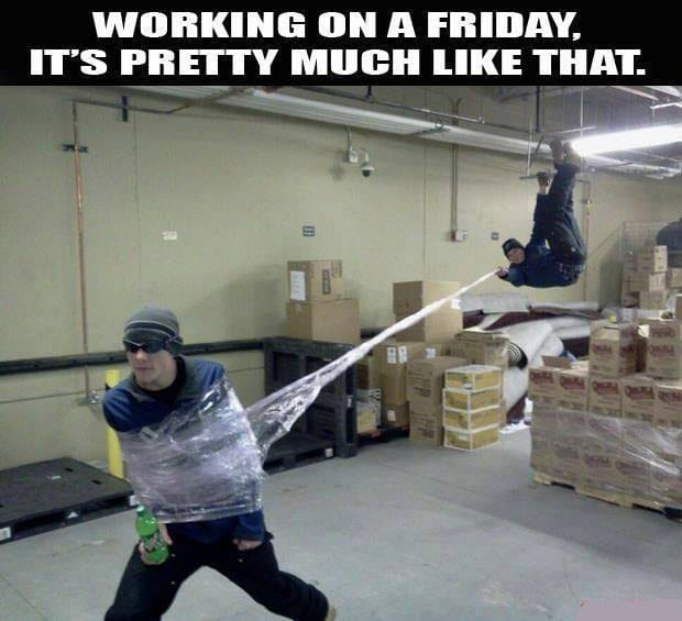 Working on Fridays