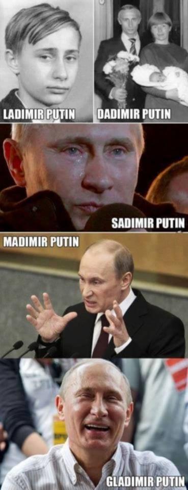 Vladimir Putin – lmao