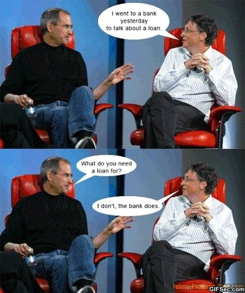 Steve Jobs Bill Gates funny