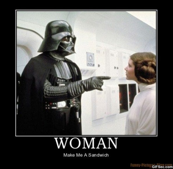 Darth vader funny picture