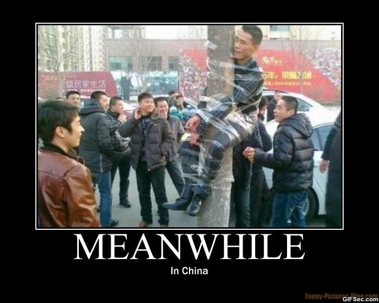 Pictures only thread Meanwhile-in-china