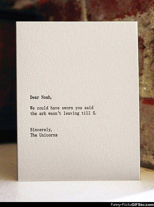 dear blank please blank funny