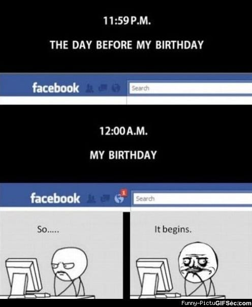Facebook Birthday – This is sooo you!