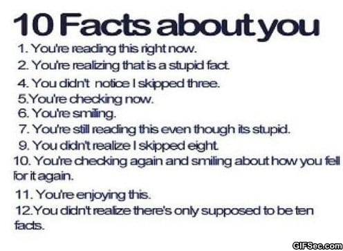 10-facts-about-you