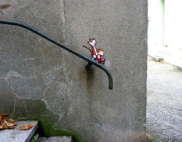calvin-and-hobbes-street-art
