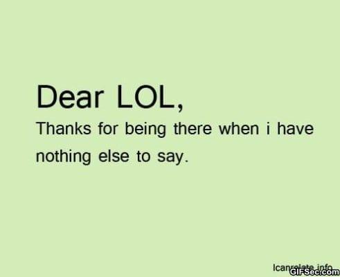 dear-lol