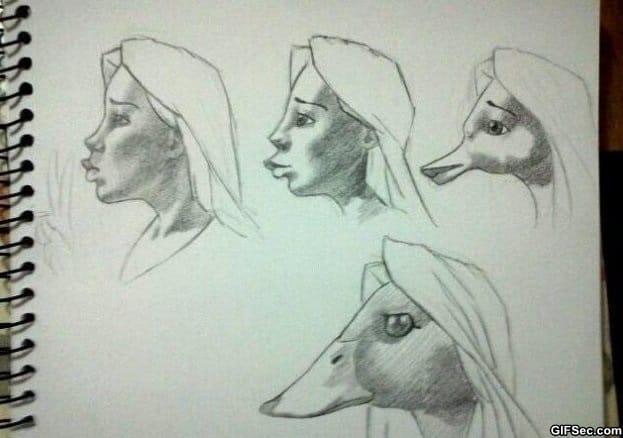 duckface-evolution
