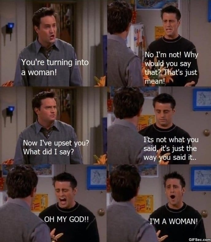 Joey from Friends - Funny Pictures, MEME and Funny GIF from GIFSec.com