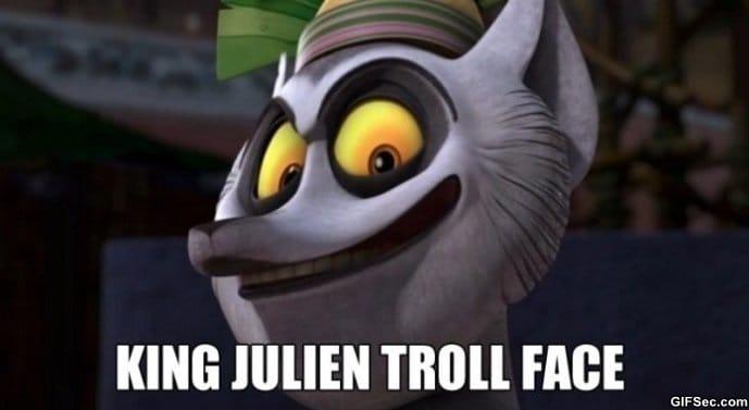 king-julien-troll-face