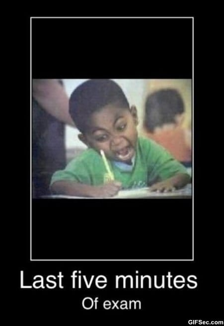 last-5-min-of-exam