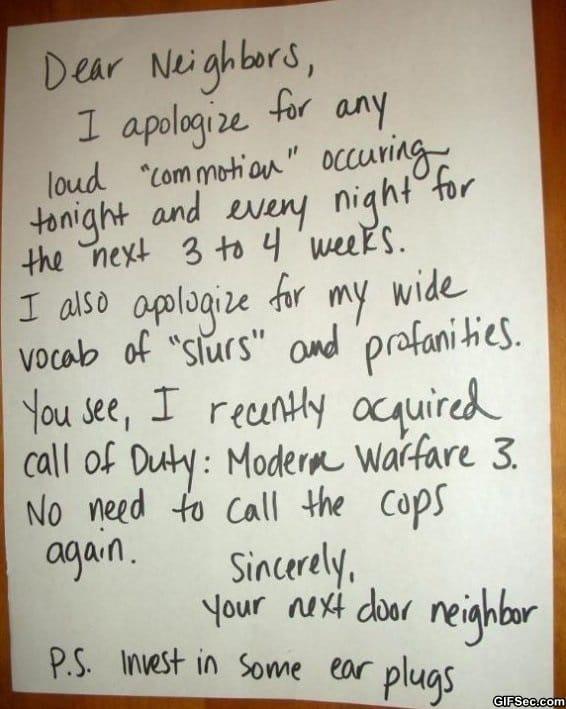 letter-to-neighbors