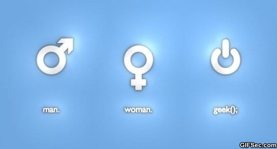 man-woman-geek