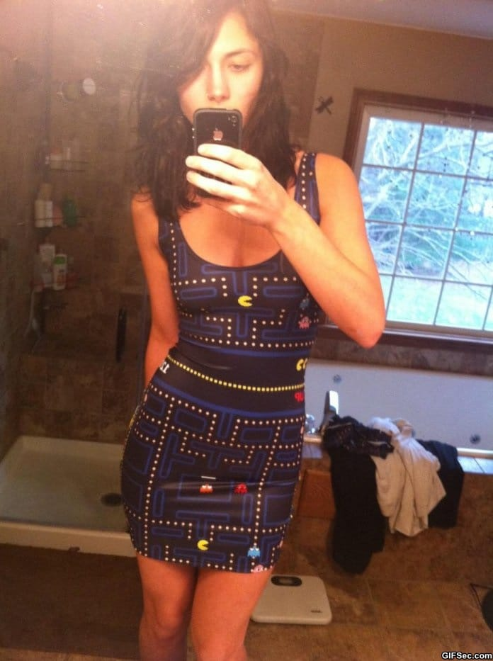 pac-man-dress