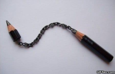 pencil-carving