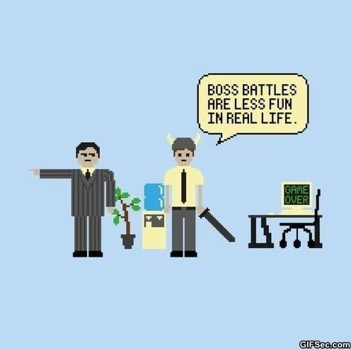 real-life-boss-battle