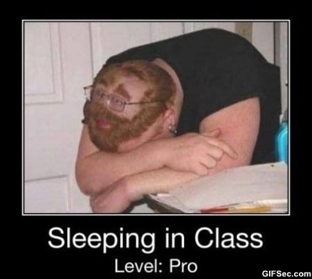 sleeping-in-class