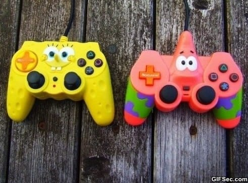 spongebob-patrick-controllers
