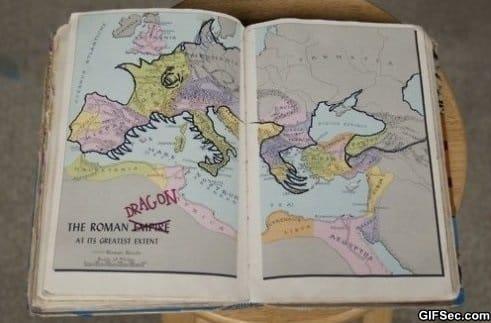 the-roman-dragon