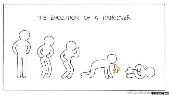 the-evolution-of-a-hangover